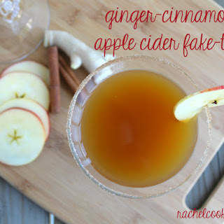 Ginger-Cinnamon Apple Cider Fake-tini
