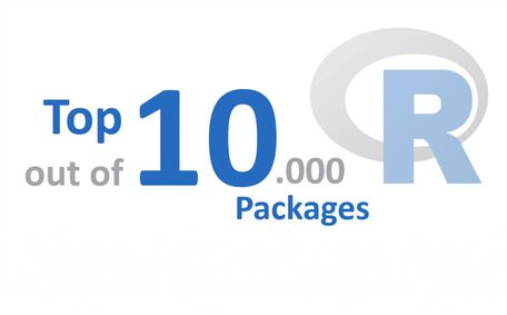 On occasion of the 10,000th R package: The eoda Top 10