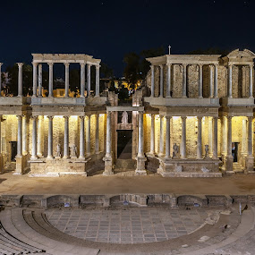 Teatro Romano, Mérida by Ricardo Figueirido - Buildings & Architecture Public & Historical