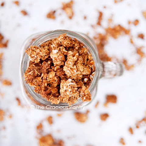 Clean Eating Maple Cinnamon Granola
