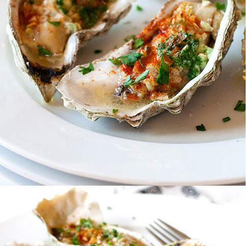 Grilled Oysters (Baked Oysters)