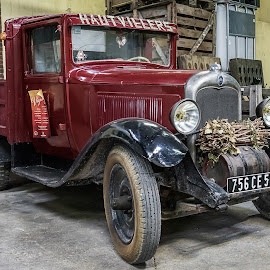 old pickup by Peter Schoeman - Transportation Automobiles ( streets, car, buildings, truck, france, champagne )