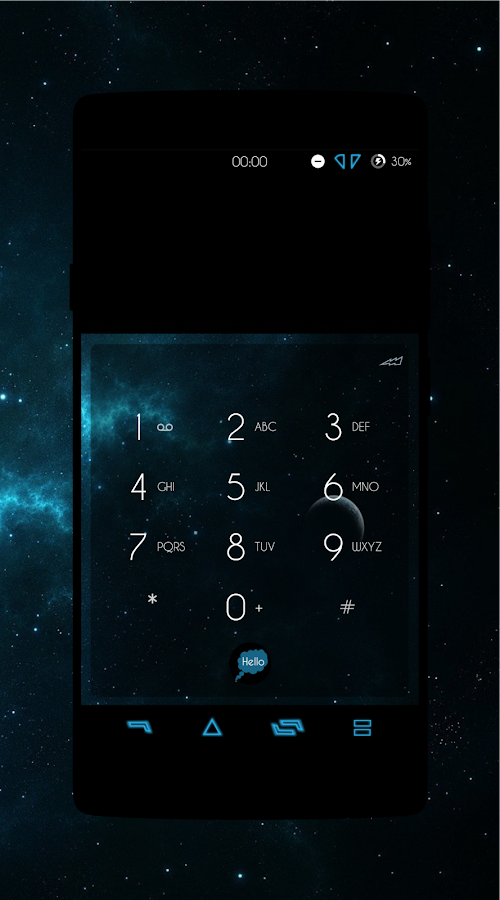 Galactic - CM13/12.X Theme Screenshot 2