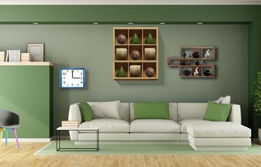 Modern Green House Escape - screenshot