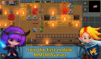 Screenshot of TibiaME MMO
