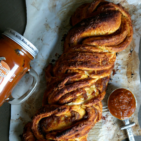 Pumpkin Butter Braided Bread
