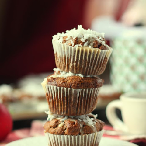 Chocolate Chip Gingerbread Latte Muffins