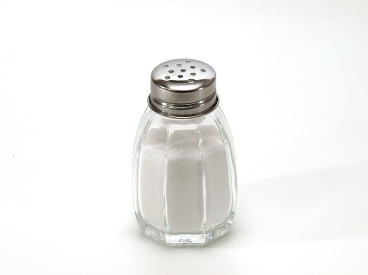 Salt shaker Mexican superstitions