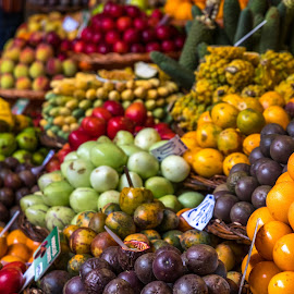 Food Market by Paulo Fernandes - Food & Drink Fruits & Vegetables ( funchal, mercado dos lavradores, fruit, food, madeira,  )