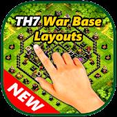 App TH7 Base Maps Clan War designs APK for Windows Phone