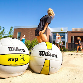 Wilson by Justin Quinn - Sports & Fitness Other Sports ( volleyball wilson )
