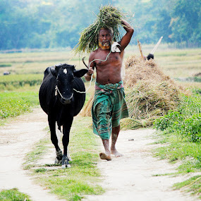 Rural life by Chand Moon - People Street & Candids