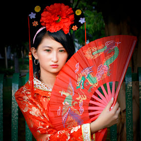 Chinese Conceptual with Dyana 2 by Silvano Rikiputra II - People Portraits of Women