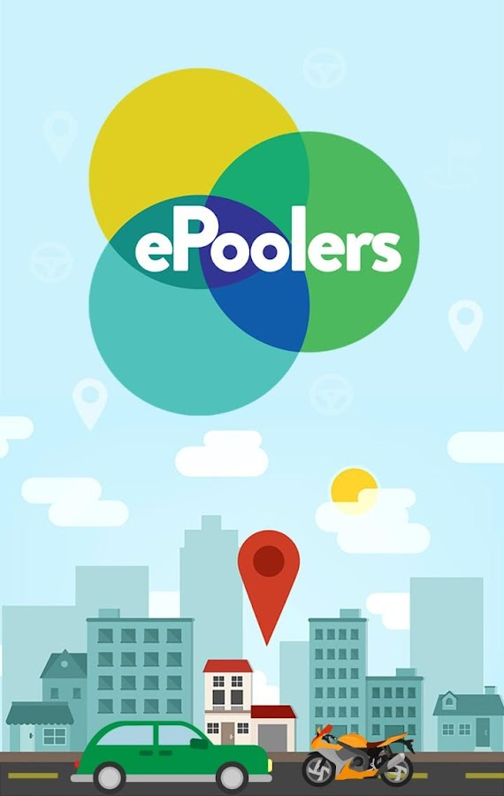 ePoolers - Carpool & Bikepool Screenshot