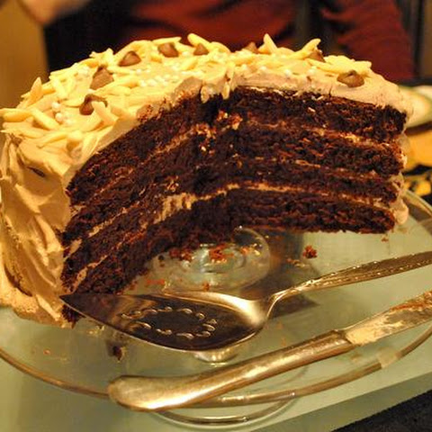 Devil's Food Cake With Mocha Frosting