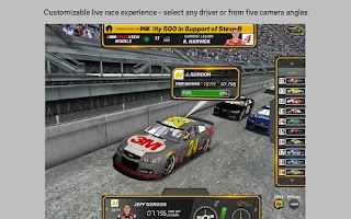 Screenshot of NASCAR RACEVIEW MOBILE