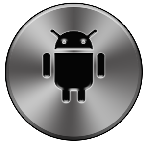 Black Chrome ADW Theme for Android