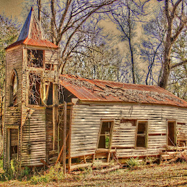 Church by Ron Olivier - Buildings & Architecture Places of Worship ( church, cajun church )