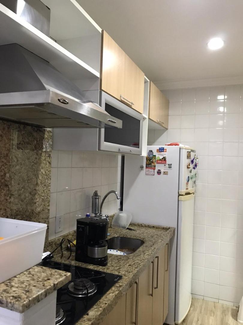 Apartamento com 2 dormitórios à venda, 43 m² por R$ 185.000 - Jardim Santa Maria (Nova Veneza) - Sumaré/SP
