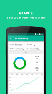Rewire - Habit & Goal Tracker- screenshot thumbnail