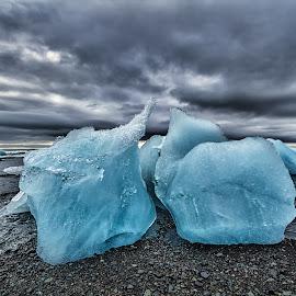 by Maria Yudin - Landscapes Travel ( awesome earth, iceland, jökulsárlón lagoon, ice )
