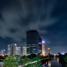 Jakarta City, INDONESIA by Lucki Prasetia - City,  Street & Park  Street Scenes