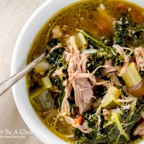 Healthy Pulled Pork Soup