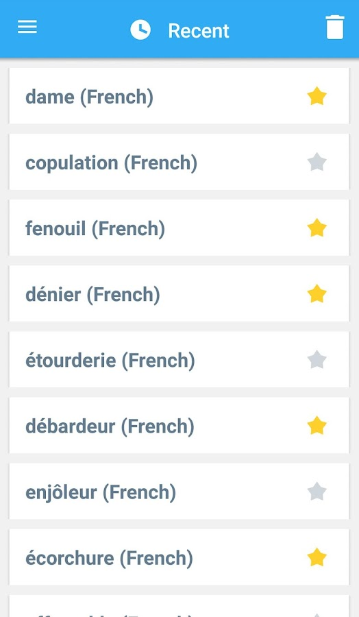 Collins French Dictionary Screenshot 5