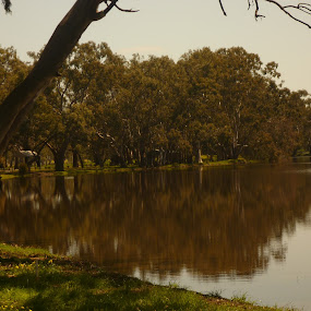 Warracknabeal by Tay Pratt - Landscapes Waterscapes