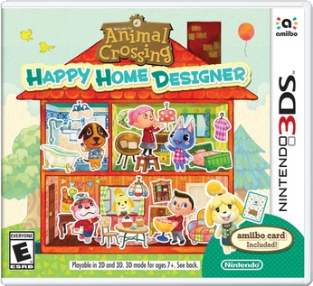 Animal Crossing: Happy Home Designer - box art