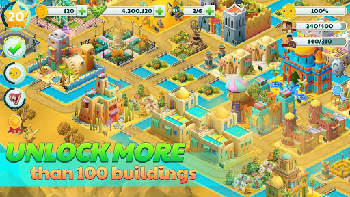 Town City - Village Building Sim Paradise Game 4 U screenshot 14