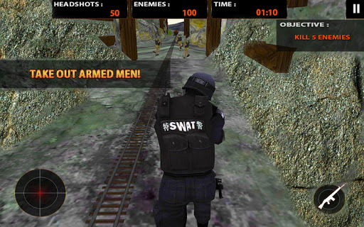 SWAT Team Counter Strike Force - screenshot
