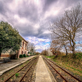 by Antonello Madau - Transportation Railway Tracks