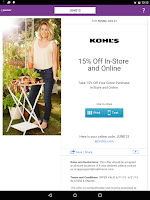 Screenshot of RetailMeNot Coupons, Discount