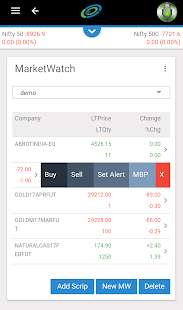 Alice Blue - Share market app- screenshot thumbnail