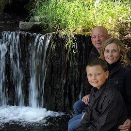 O'Neill's by Sharon Abbott - People Family ( bowering park, family, waterfall, st. john's )
