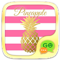 (FREE) GO SMS PINEAPPLE THEME