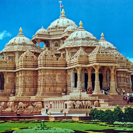 Akshar Dham by Pradeep Kumar - Buildings & Architecture Places of Worship