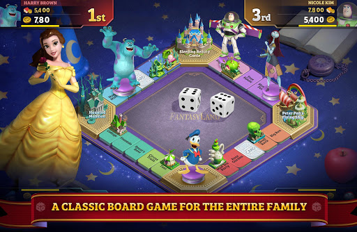 Disney Magical Dice : The Enchanted Board Game For PC