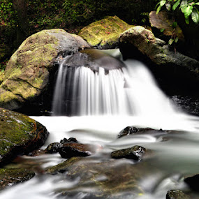 wera river by Hajar Wisnu Dwiputra - Nature Up Close Water ( waterfall, slow speed )