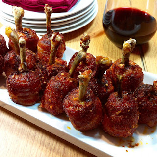 Honey Aleppo Pepper Lollipop Chicken Wings