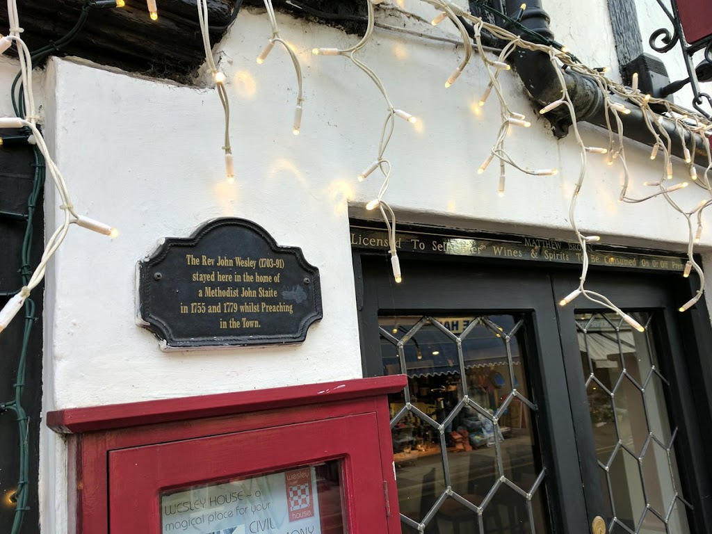 The Rev John Wesley (1703-91) stayed here in the home of a Methodist John Staite in 1775 and 1779 whilst Preaching in the Town. Submitted by @caddickbrown