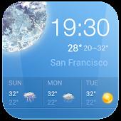 Download Win7 Clock & Weather Widget APK on PC