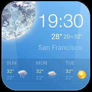 Прогноз погоды Виджет в России