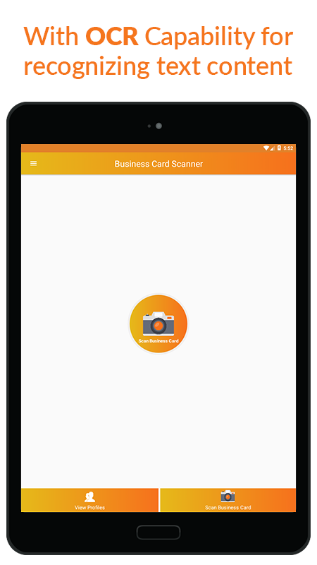 Business Card Scanner & Reader - Free Card Reader Screenshot 5