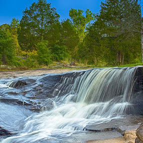The Waterfall by Thomas Vasas - Landscapes Waterscapes ( waterfalls, nature, travel, landscapes,  )