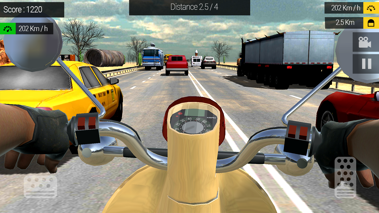Moto Traffic Rider Screenshot 1