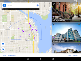 Screenshot of Zillow Rentals - Houses & Apts