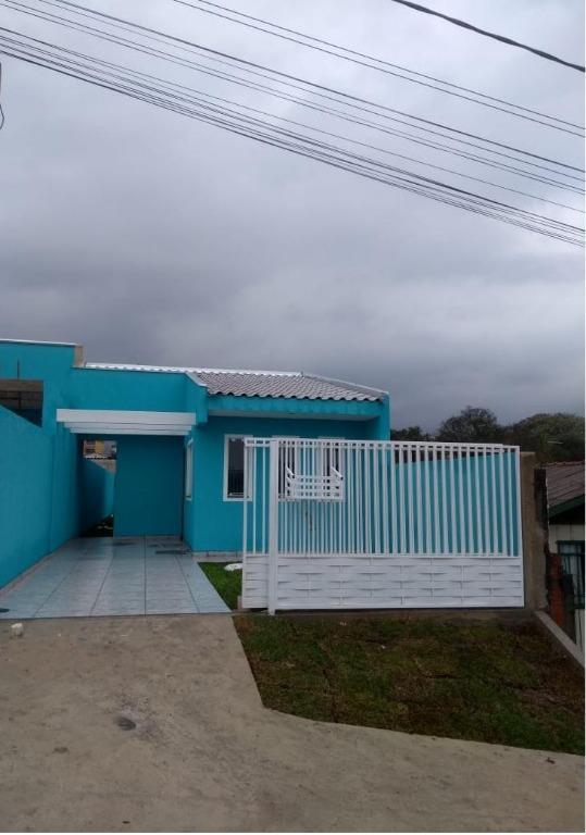 Casa com 3 dormitórios à venda, 64 m² por R$ 180.000,00 - Gralha Azul - Fazenda Rio Grande/PR