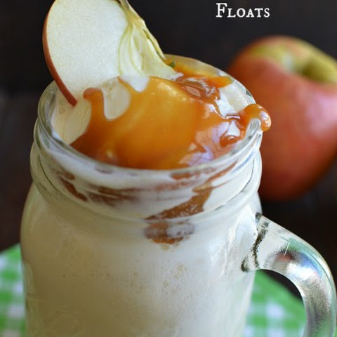 Sparkling Cider Floats